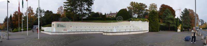 Олимпийский музей в Лозанне стоковое фото