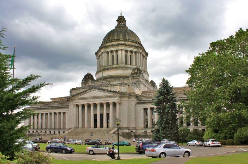 Олимпия, Вашингтон. Здание капитолия стоковое фото