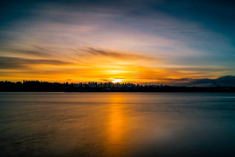 Олимпия восхода солнца зимы стоковое фото