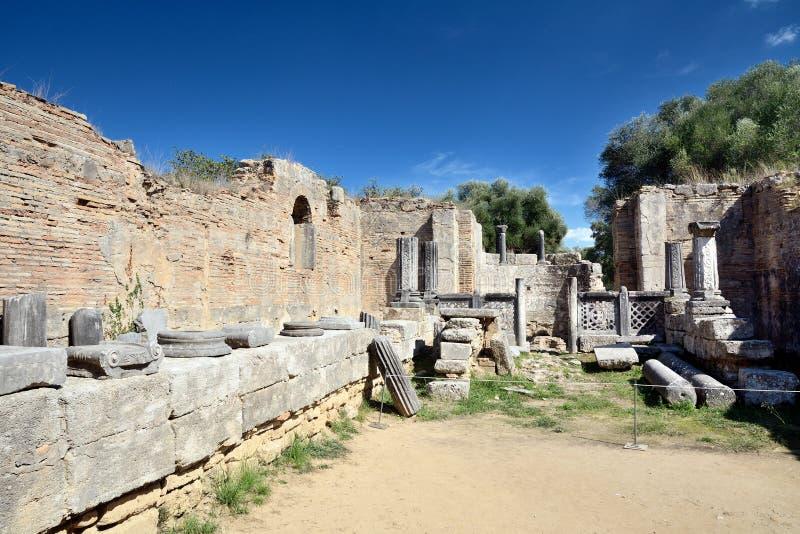 Олимпия Греции стоковое изображение rf