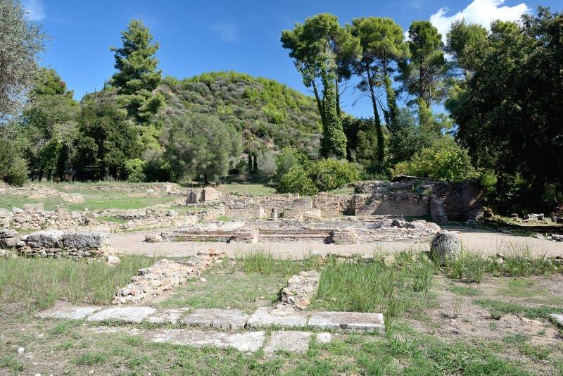 Олимпия Греции стоковое фото