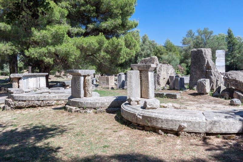 Олимпия Греция стоковое изображение rf