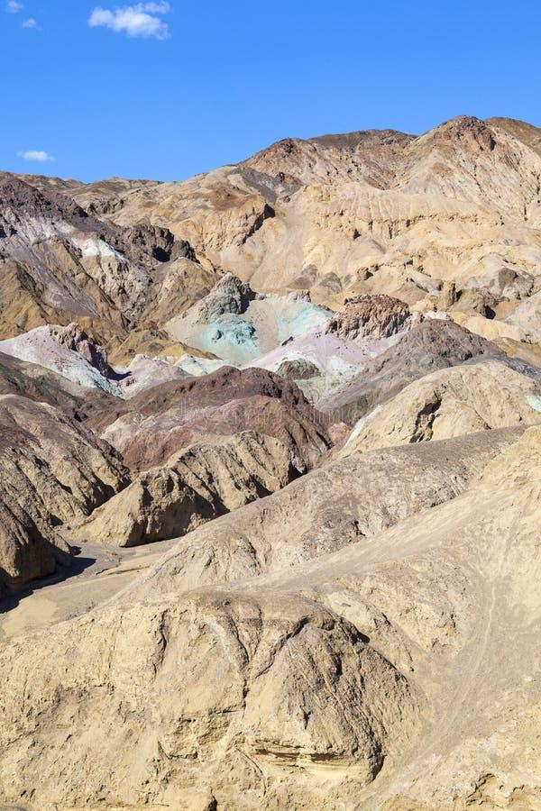 долина палитры s смерти художника стоковое фото