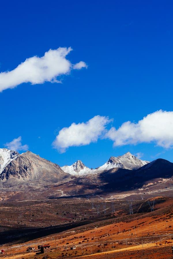 долина плато chuanxi стоковое фото