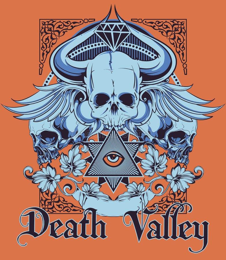 долина смерти иллюстрация штока