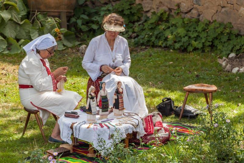 одиннадцатый национальный фестиваль болгарского фольклора стоковые изображения rf