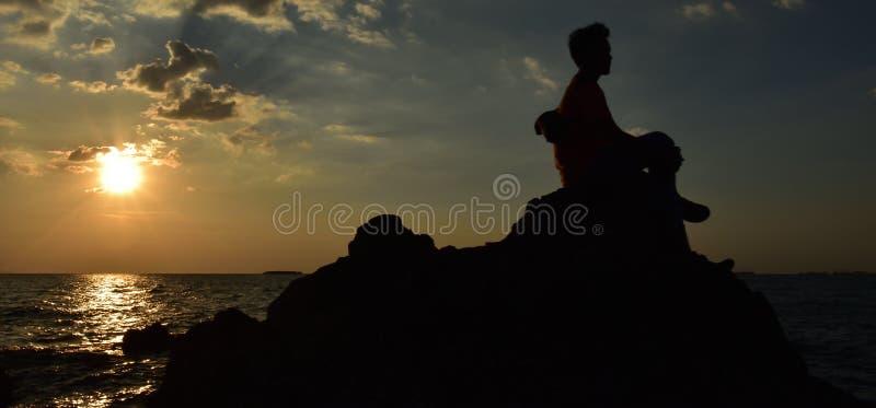 Одиночество моря стоковое фото