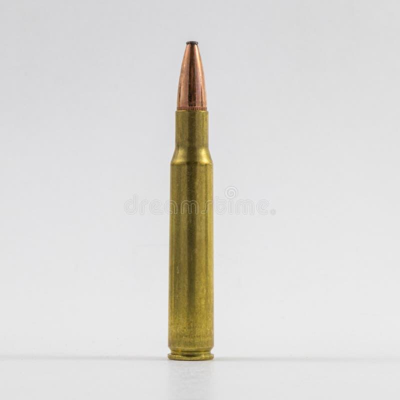 Одиночная винтовка круглая стоковое изображение