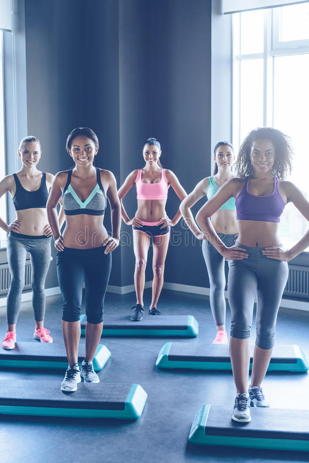 Один больше шага для здорового тела стоковое фото