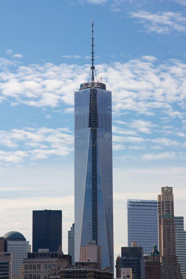Один всемирный торговый центр NYC стоковое фото