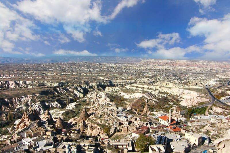Один из интересов мира, Cappadocia, Турция стоковые фотографии rf