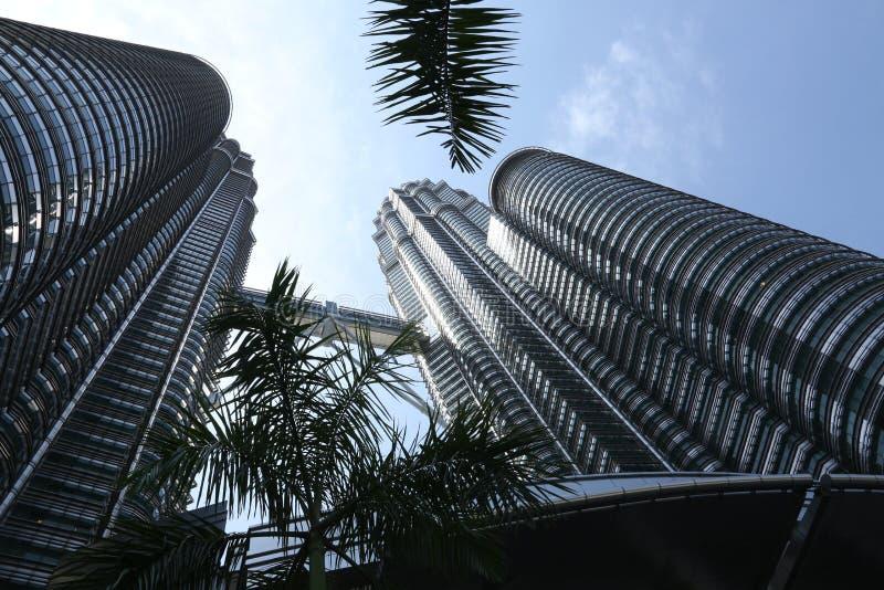 Одно из самого высокорослого здания в мире стоковые изображения