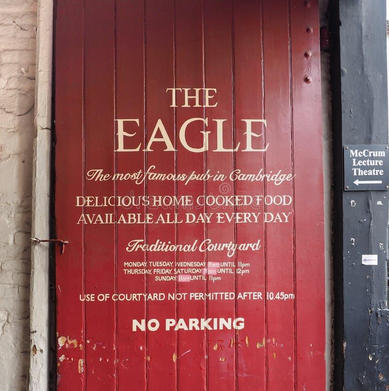 Паб орла в Кембридже стоковое фото rf