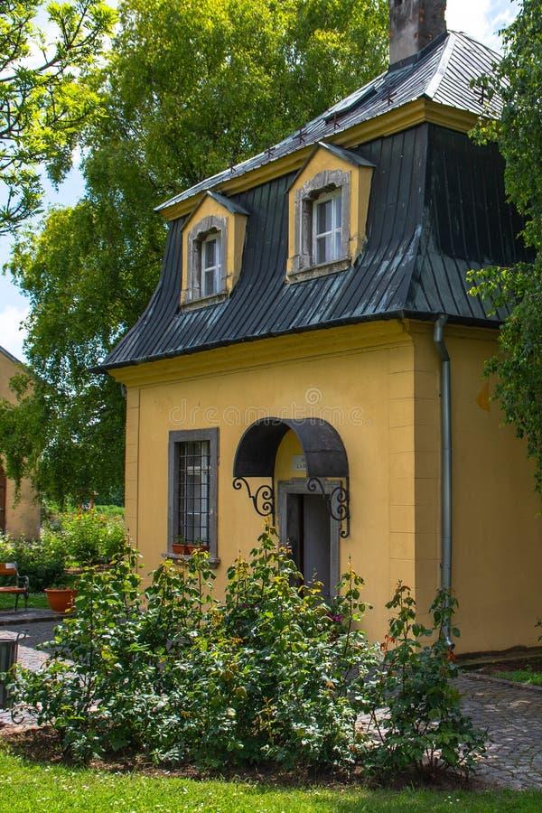 Павильон Бетховен в Dolna Krupa, Словакии стоковые изображения