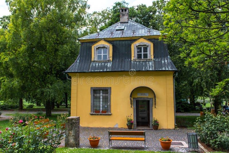 Павильон Бетховен в Dolna Krupa, Словакии стоковые фотографии rf