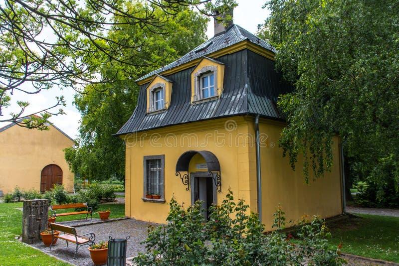 Павильон Бетховен в Dolna Krupa, Словакии стоковое фото rf
