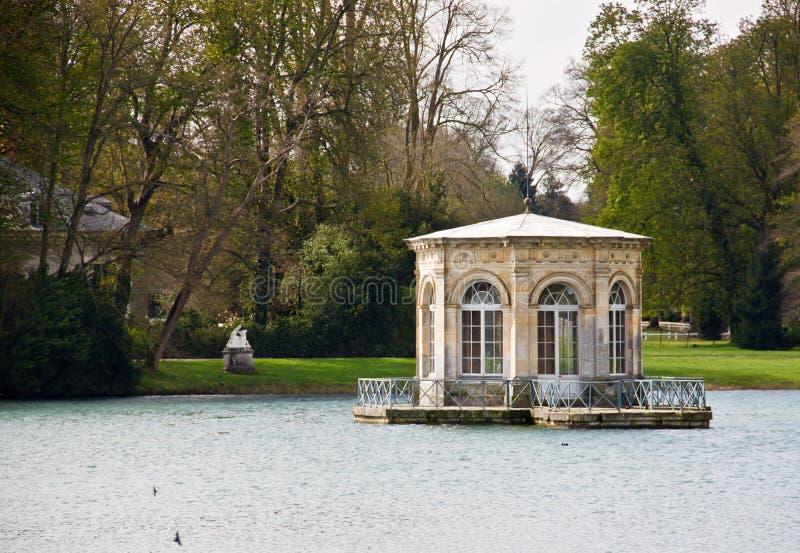павильон дворца fontainebleau малый стоковые фото