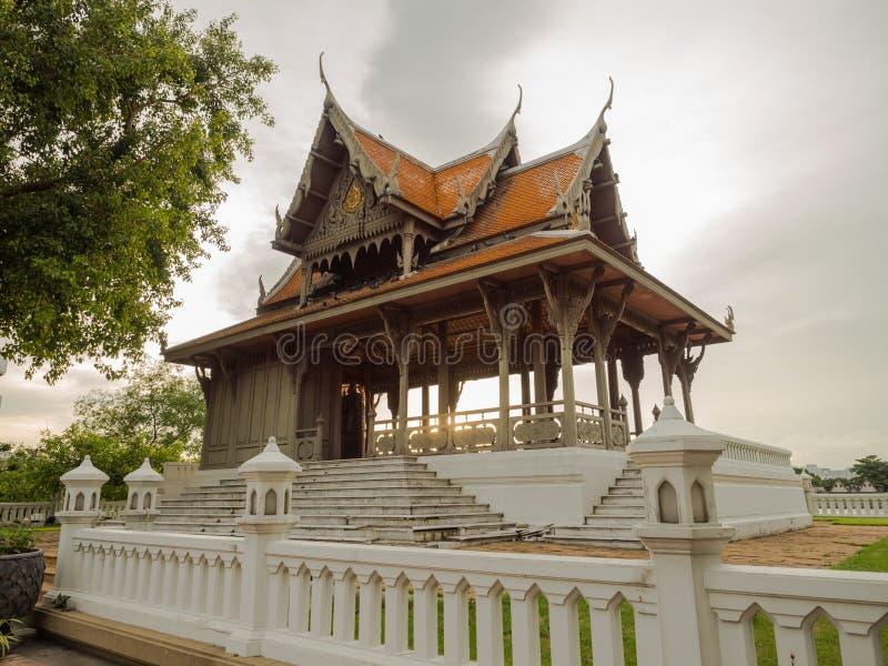 павильон тайский стоковая фотография rf