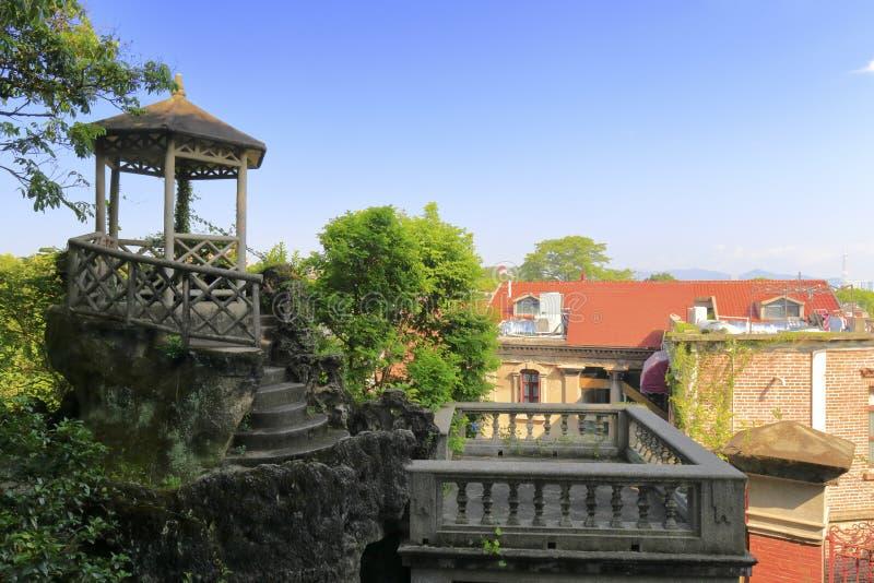 Download Павильон частного сада в острове Gulangyu Стоковое Фото - изображение насчитывающей парк, фарфор: 81814248