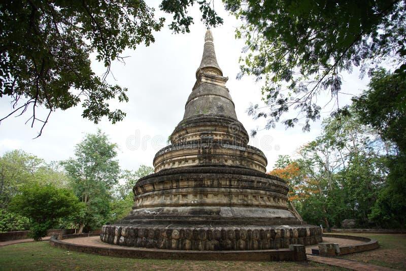 Пагода виска Umong в Chiangmai, Таиланде стоковые изображения