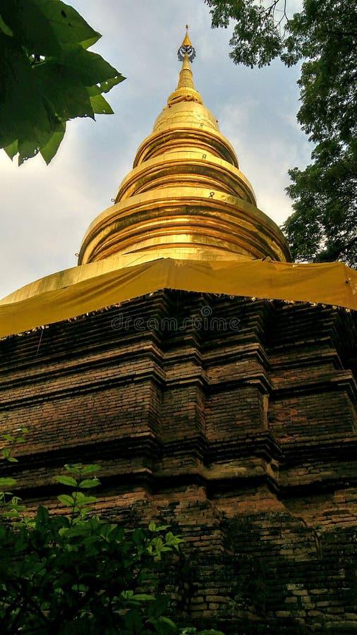 Пагода в Chiangmai стоковая фотография