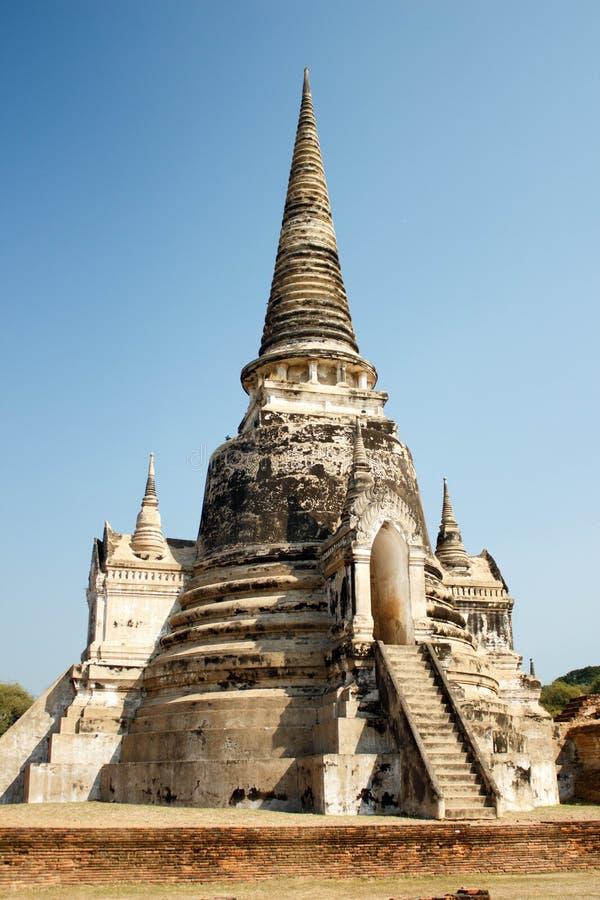 Пагода на Phra Nakhon Si Ayutthaya, Таиланде стоковая фотография