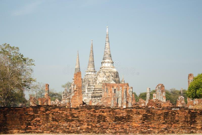 Пагода на Phra Nakhon Si Ayutthaya, Таиланде стоковые изображения rf