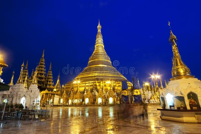 Пагода Schwedagon стоковое изображение