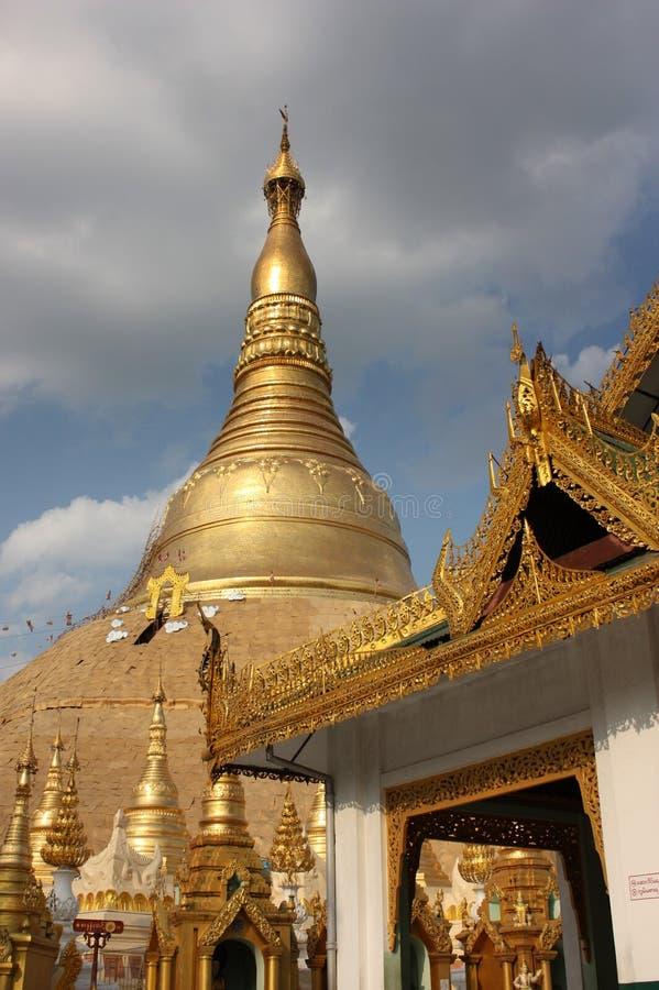 Пагода Бирмы стоковое фото rf