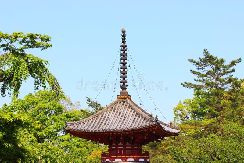 Пагода Япония стоковые изображения rf