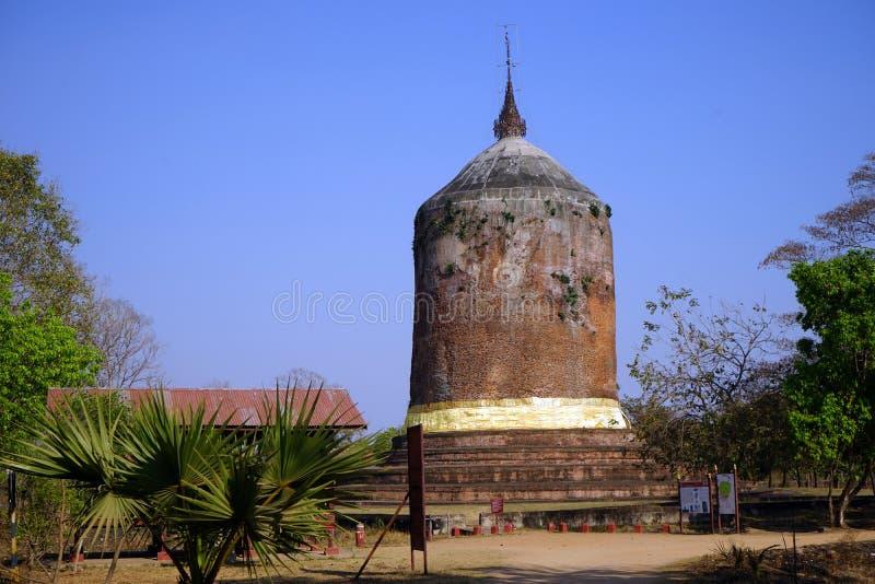 Пагода Bawbawgy стоковая фотография rf