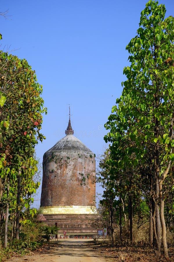 Пагода Bawbawgy стоковое фото rf