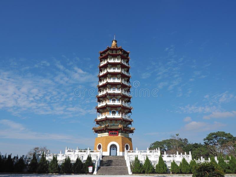 Пагода En Ci стоковое изображение