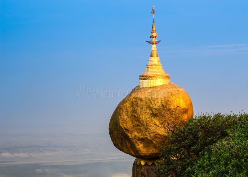 Пагода Kyaiktiyo стоковые фото
