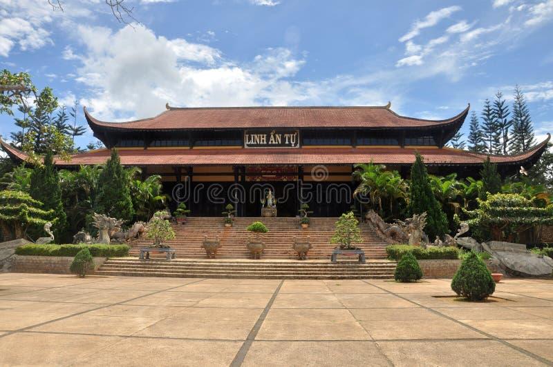 Пагода Linh, Вьетнам стоковое изображение rf