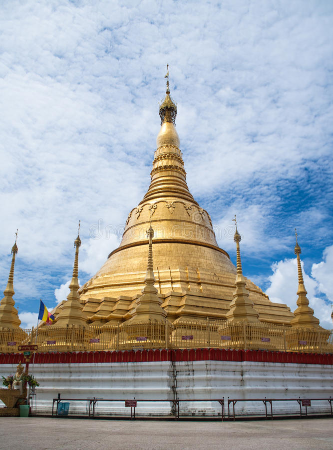 Пагода Shwedagon стоковое фото rf