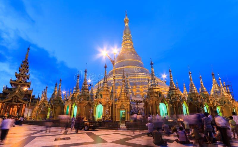 Пагода Shwedagon стоковые изображения
