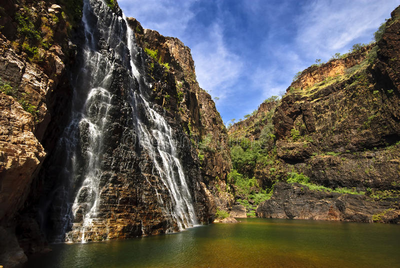 падает близнец национального парка kakadu стоковые фотографии rf