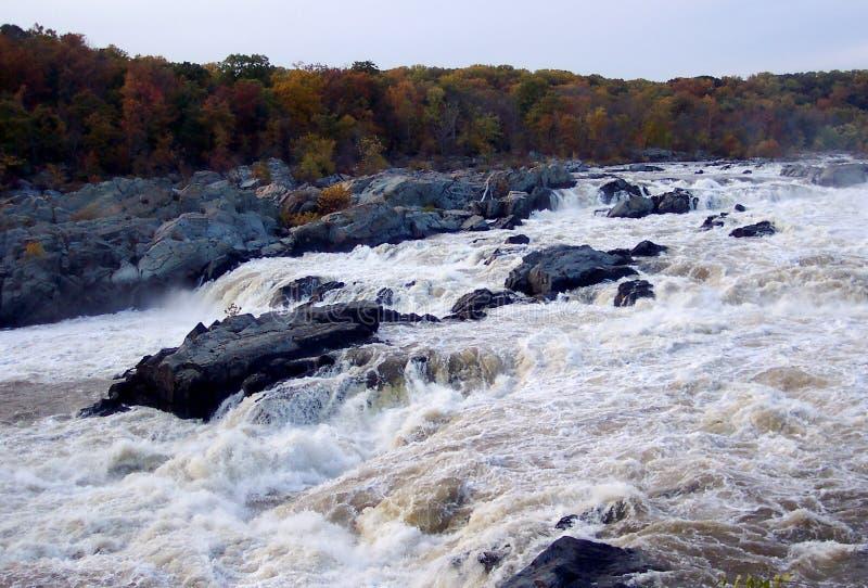 падает большой Maryland Стоковые Изображения