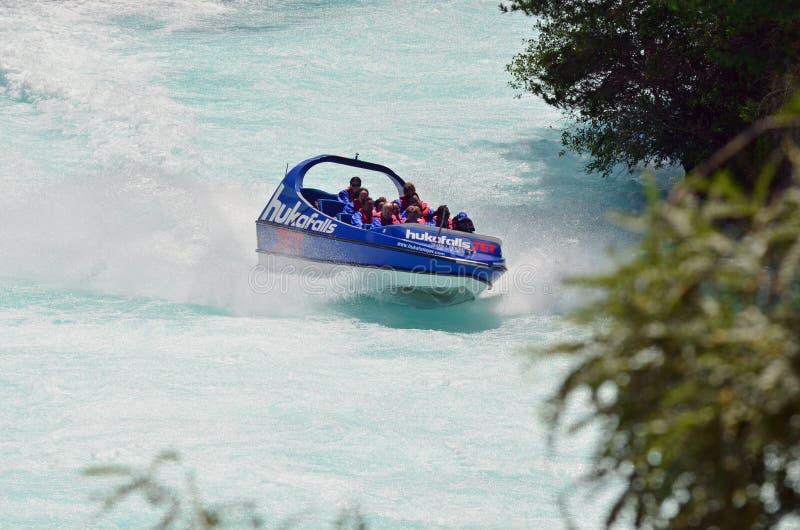 падает двигатель Новая Зеландия huka стоковая фотография rf
