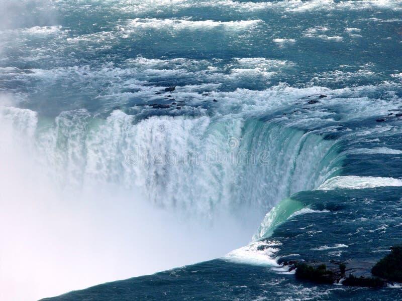 падает Horseshoe Niagara Стоковое Изображение