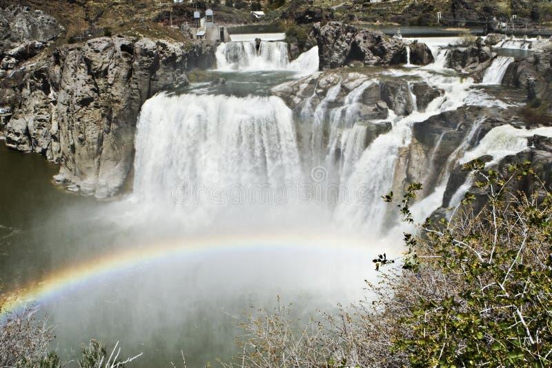 падает shoshone Айдахо стоковые фото
