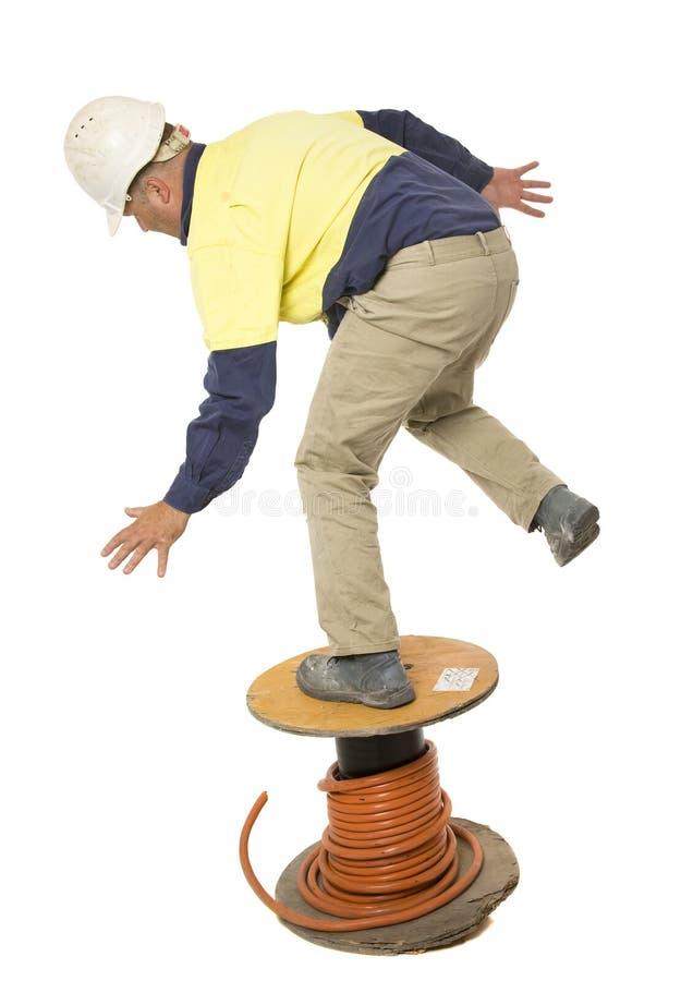 Падать и безопасность лестницы стоковая фотография