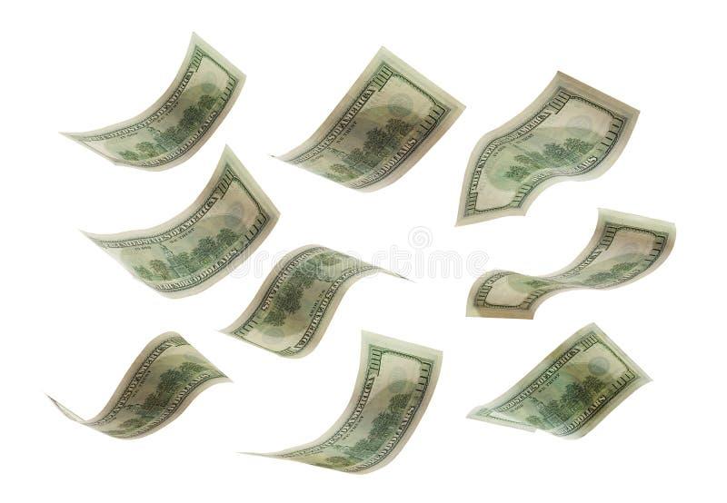 Падая кредитки стоковое изображение rf