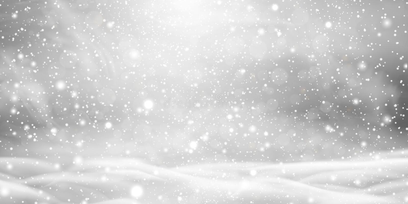 Падая снег рождества красивый с сугробами изолированными на прозрачной предпосылке Серый сияющий плакат с зимой бесплатная иллюстрация