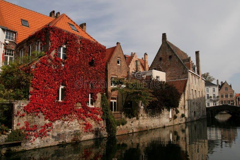 Download падение Бельгии brugge стоковое фото. изображение насчитывающей высушено - 6858936