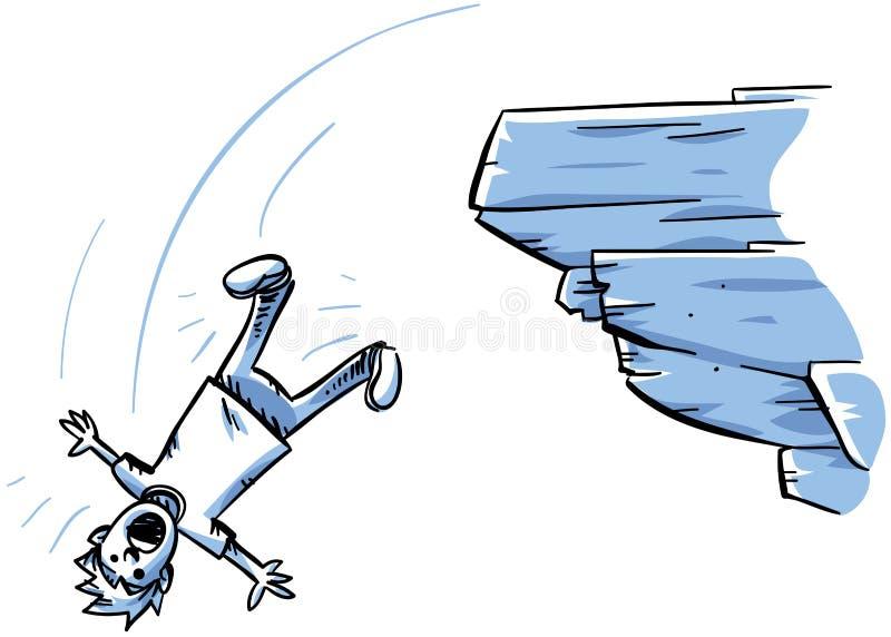Падение скалы бесплатная иллюстрация