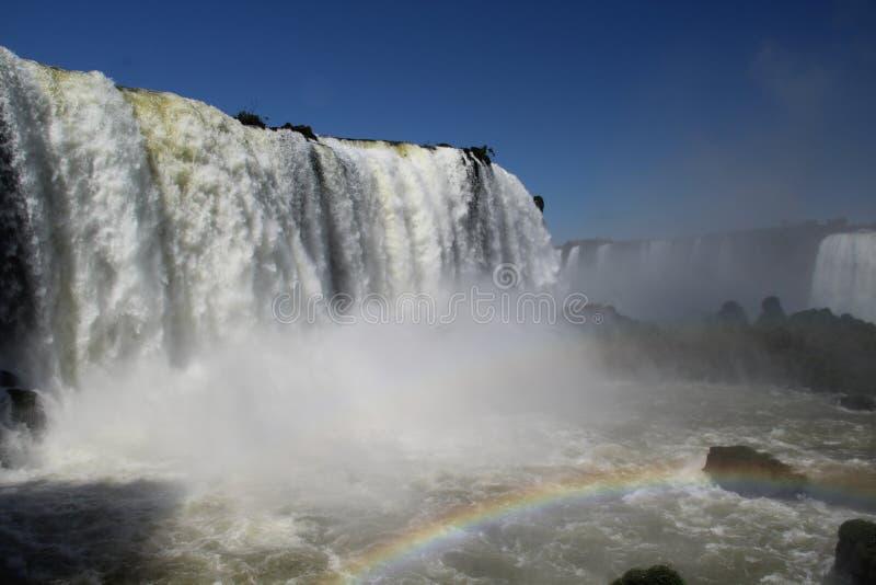 Падение ` s Floriano покрашенное с радугой стоковые фотографии rf