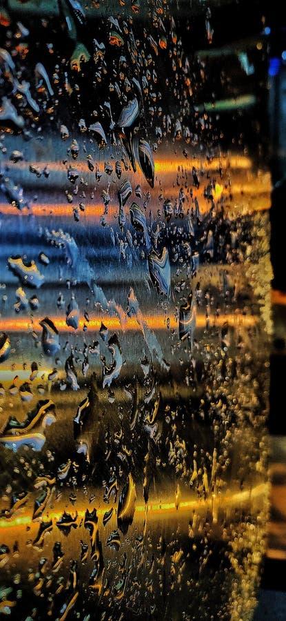 Падения и отражения стоковое фото rf