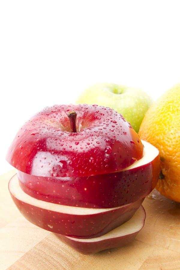 падения яблока стоковое фото rf